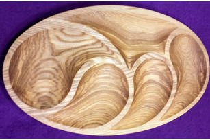 Plate oval (5 sections)