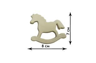 Fireclay Magnet - Horse