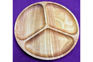 Plate circle (3 sections) 33 cm