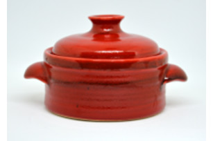 Pot with a cover and handles of 400 ml, 12 cm - the Classic series