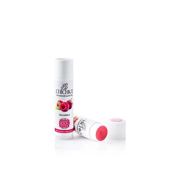 Natural lip balm MALINA