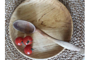 Wooden spoons (Cherry and Pear)