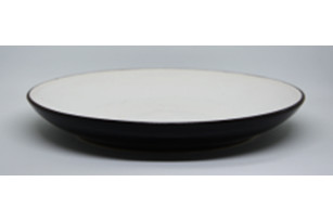 Plate with a high board of 26 cm - the Classic series