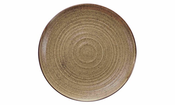 Plate with a high board of 26 cm - a series of the Country