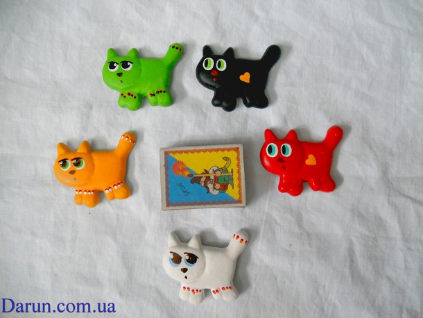 Ceramic Magnets - Cats